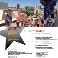 Spain: Cinema and the City Study Abroad Info Session