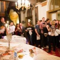 Hanukkah Celebration : Menorah Lighting with President DeGioia