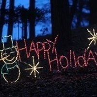 Coonskin Holiday Lights