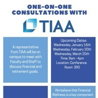 TIAA One on One Consulations