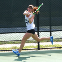 Queens University of Charlotte Women's Tennis vs  Individuals