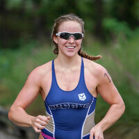 Queens University of Charlotte Women's Triathlon vs  Battle of Buckhorn - MACTC Race