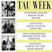 AST's Tau week- Build YOUR Brand