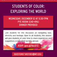 IdentityX Abroad Series: Students of Color - Exploring the World