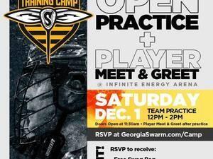 Georgia Swarm Player Meet & Greet