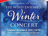 FSU Percussion Ensemble and Wind Ensemble Winter Concert