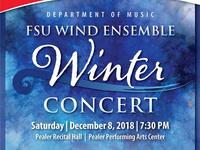 FSU Percussion Ensemble and Wind Ensemble Winter Concert