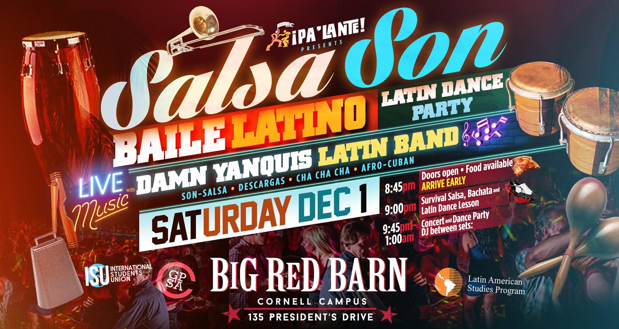 LIVE SALSA & LATIN MUSIC at SalsaSon Finale :: Dance Party, Lesson