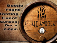 Ale Apothecary Bottle Flight Event