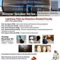 Seminar Speaker Series: Lightning Talks by Robotics-Related Faculty