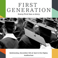 "Film Showing: ""First Generation"""