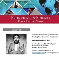 Frontiers in Science Public Lecture Series with Dr. Heshan Illangkoon