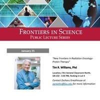 Frontiers in Science Public Lecture Series with Dr. Tim Williams