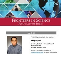 Frontiers in Science Public Lecture Series with Dr. Feng Gai
