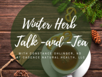 Winter Herb Talk and Tea