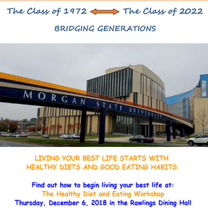 Morgan's 'Class of 1972' Healthy Diet and Eating Workshop