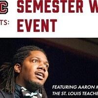 St. Louis Teacher Residency's Aaron Massey @ The AAAC Semester Wrap Up Event