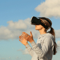 De-stress in Virtual Reality at IC Library