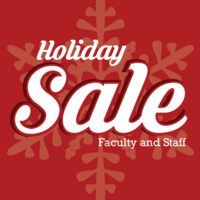 Faculty/Staff Holiday Sale