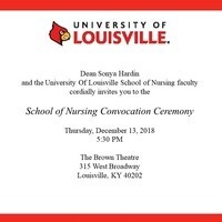 School of Nursing Convocation Ceremony