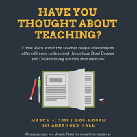 Information Session: Interested in Education