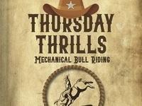 Thursday Thrills: Mechanical Bull Riding