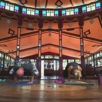 Brewery Yoga at Wolf Creek Brewery
