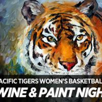 Women's Basketball Wine and Paint Night