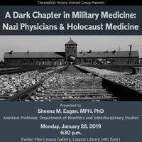 A Dark Chapter in Military Medicine: Nazi Physicians & Holocaust Medicine