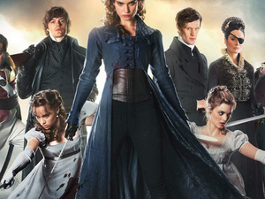 Jane Austen Movie Night: Pride and Prejudice and Zombies