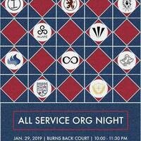 All Service Org Night