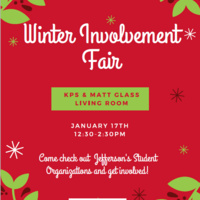 Winter Involvement Fair