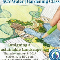 SCV Water Gardening Class: Designing a Sustainable Landscape