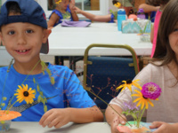 Budding Artists: Ikebana for Mother's Day