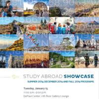 Study Abroad Showcase