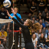 Pacific Lutheran University Women's Volleyball vs Lewis & Clark College