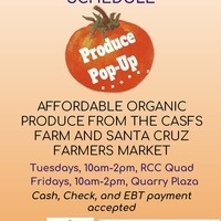 Organic Produce Pop-Up