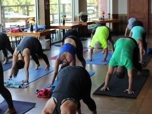 Yoga + Beer at Double Mountain Brewing