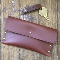 Leather Clutch and Key Fob Workshop