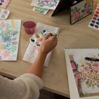 Watercolor Florals Workshop
