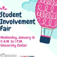 Spring Student Involvement Fair