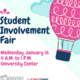 Spring Student Involvement Fair