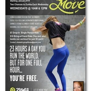 New Year, New You Zumba Dance Fitness Classes