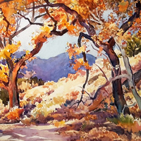 Glen Knowles - Watercolor Demonstration