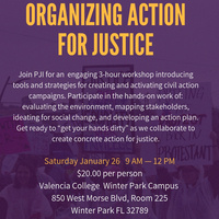 Community Workshop: Organizing Action for Justice