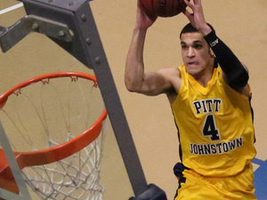 Pitt-Johnstown basketball doubleheader vs. Slippery Rock