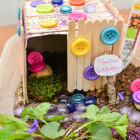 Crafty Monday - Fairy Houses