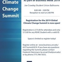 2019 Global Climate Change Summit
