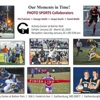 "Gallery Exhibit: Sports Photography - ""Our Moments in Time!"""