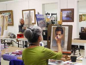 In The Spotlight Fine Art Exhibition